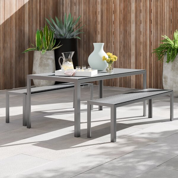 Harry 3 Piece Dining Set by Foundstone