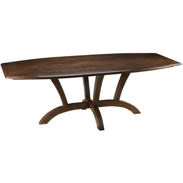 Regency Boat Dining Table by MacKenzie-Dow