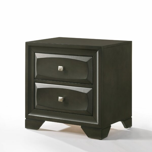 Hersacher 2 Drawer Nightstand by Latitude Run