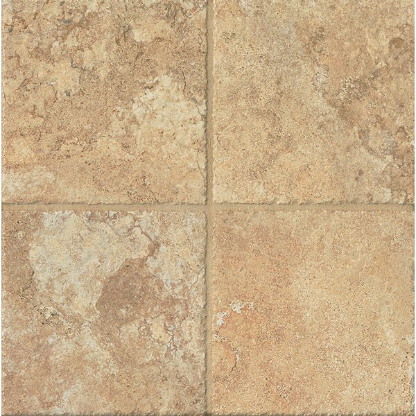 Forge 6.5 x 6.5 Porcelain Field Tile in Gold by Bedrosians