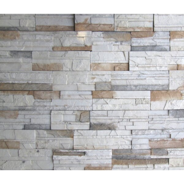 Cascade Mountain Random Sized Concrete Composite Rock Wall Tile in Montreal by Emser Tile
