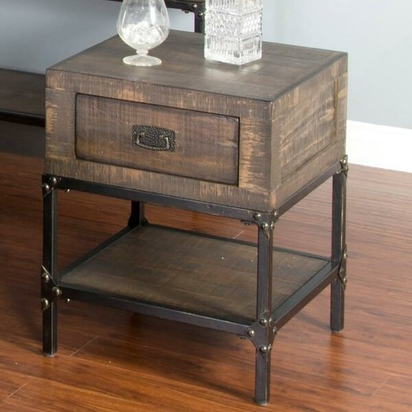 Hobbs End Table With Storage By Williston Forge