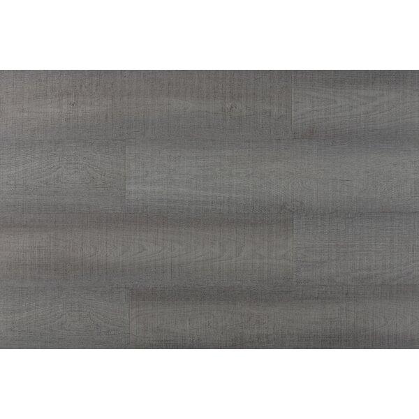 Chatman 4.75 x 48 x 12mm Oak LaminateFlooring in Light Gray by Serradon