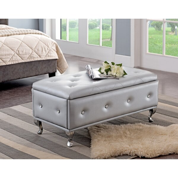 Novotny Upholstered Storage Bench by House of Hampton