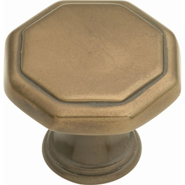 Conquest Octagon Novelty Knob by Hickory Hardware