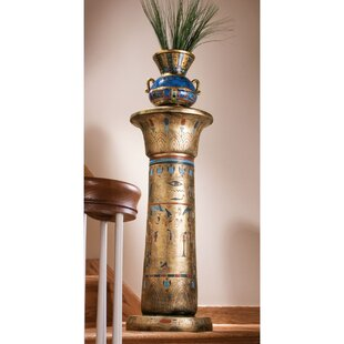Compare prices Egyptian Kings Pedestal Plant Stand By Design Toscano