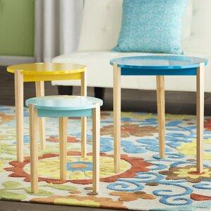 Keane 3 Piece Nesting Tables by Zipcode Design