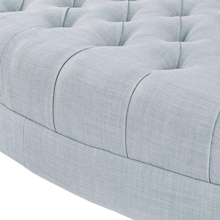 Wondrous Keats Tufted Cocktail Ottoman Evergreenethics Interior Chair Design Evergreenethicsorg