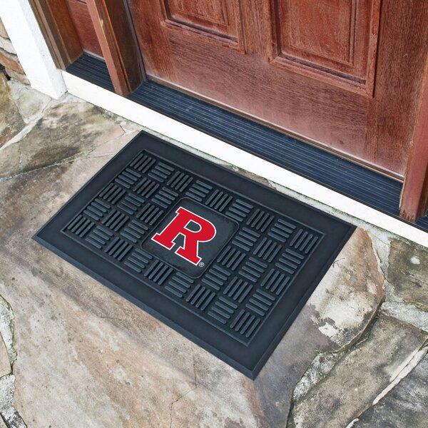 Rutgers University Medallion Doormat by FANMATS