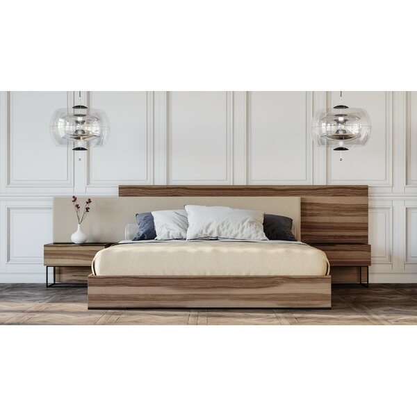 Mraz Italian Upholstered Platform Bed by Mercury Row