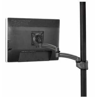 Kontour Pole Mount Articulating Arm Single Monitor