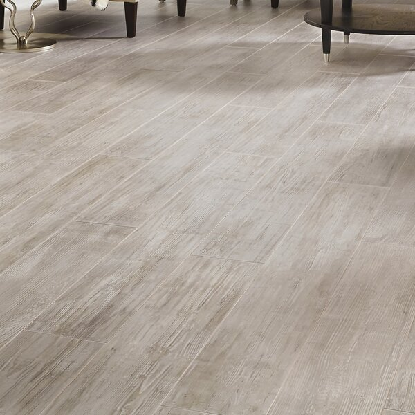 Restoration Wide Plank 8'' x 51'' x 12mm Laminate Flooring in Driftwood by Mannington