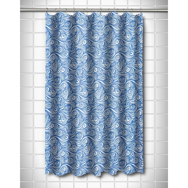 Coastal Dreamy Sea Shower Curtain by Island Girl Home
