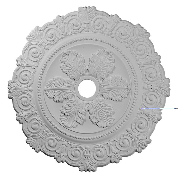 Scroll Medallion 33 1/4H x 33 1/4W x 1D Ceiling Medallion by Ekena Millwork