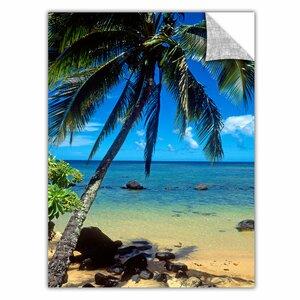 ArtApeelz Beautiful Anini Beach by Kathy Yates Photographic Print by ArtWall