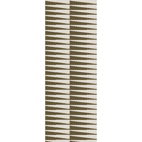 Quinten Olive/Ivory Area Rug by Ebern Designs