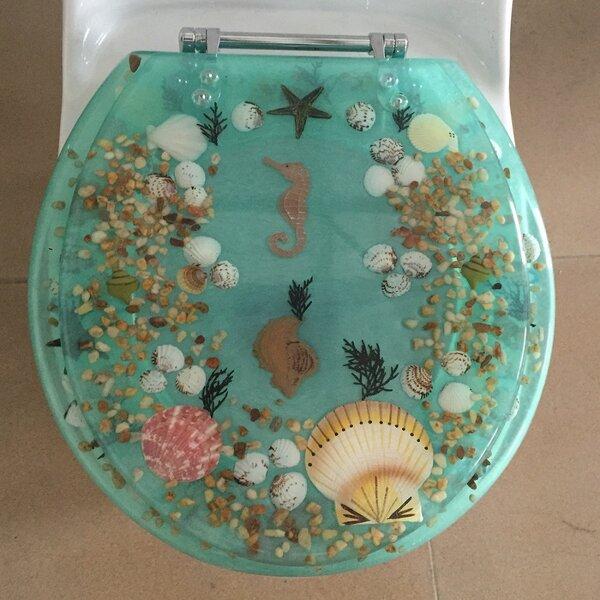 Sea Treasure Decorative Round Toilet Seat by Daniels Bath