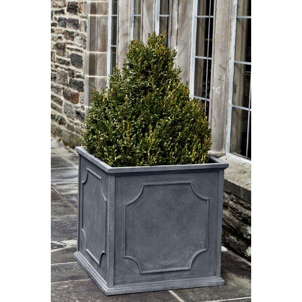 Carmina Square 4-Piece Fiberglass Clay Composite Pot Planter Set by Darby Home Co