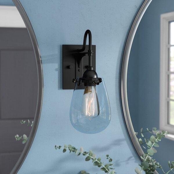 Kiley 1-Light Bath Sconce by Williston Forge