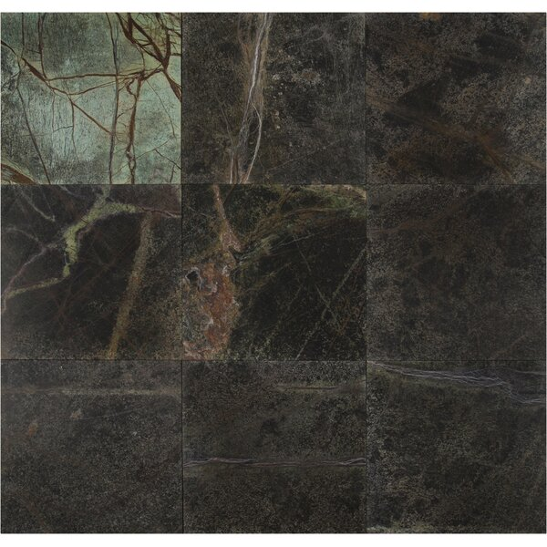 12 x 12 Marble Field Tile in Rain Forest by MSI