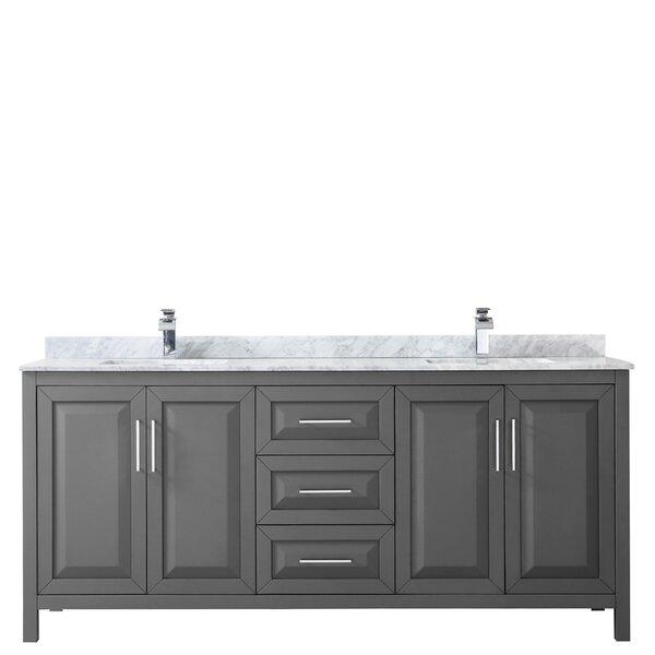 Daria 80 Double Bathroom Vanity Set