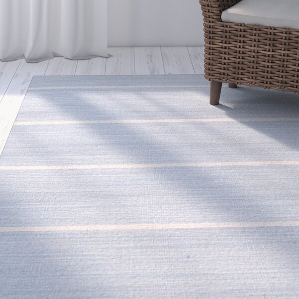 Templeton Blue/Ivory Area Rug by The Twillery Co.