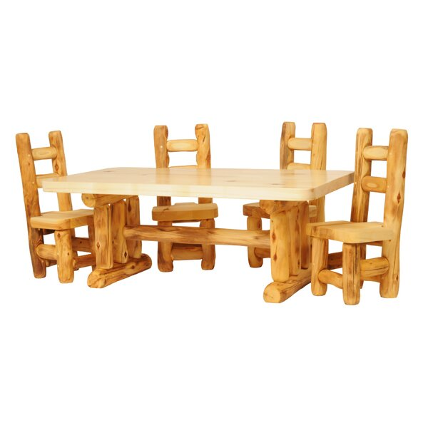 Hilary 5 Piece Dining Set by Loon Peak