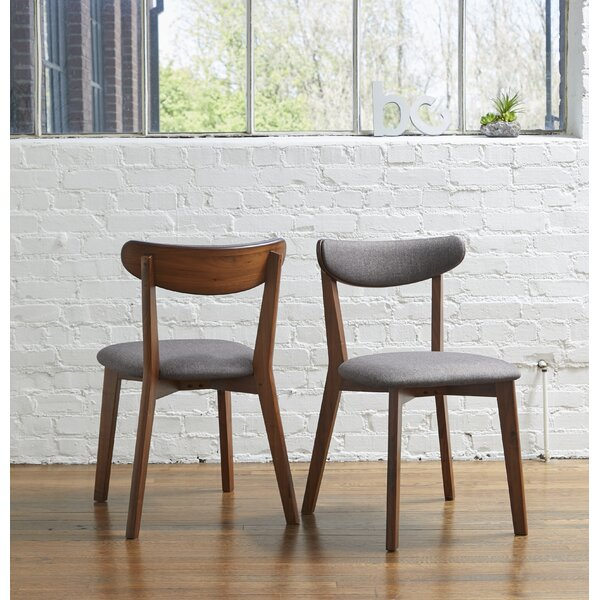 Find Clayborn Upholstered Dining Chair (Set Of 2) By Corrigan Studio Today Sale Only