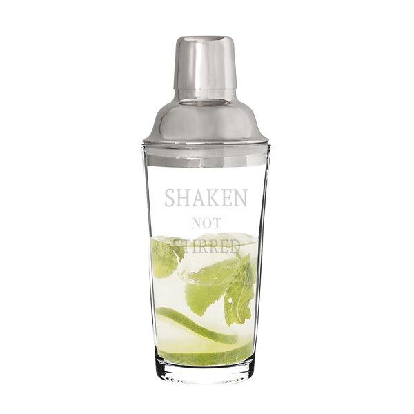 Warrenton Shaken Not Stirred Cocktail Shaker by Mint Pantry