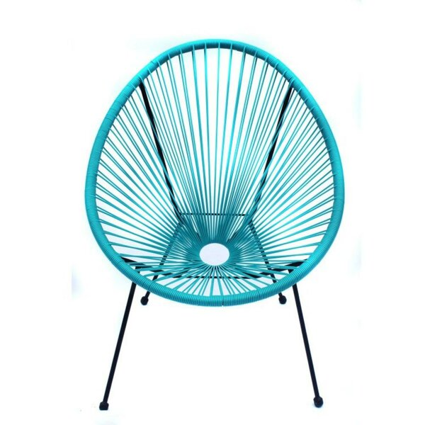 Mizel Light Weight Acapulco Patio Chair by World Menagerie