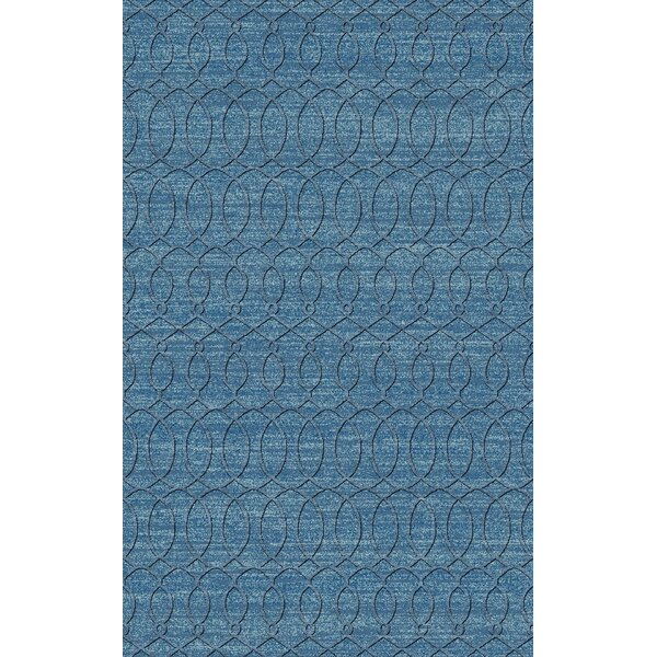 Grange Aqua Area Rug by Alcott Hill