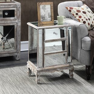 Read Reviews Rhys End Table with Storage by Willa Arlo Interiors