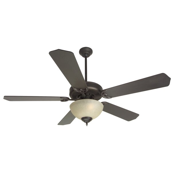52 Palatine Traditional 5 Blade Ceiling Fan by Charlton Home