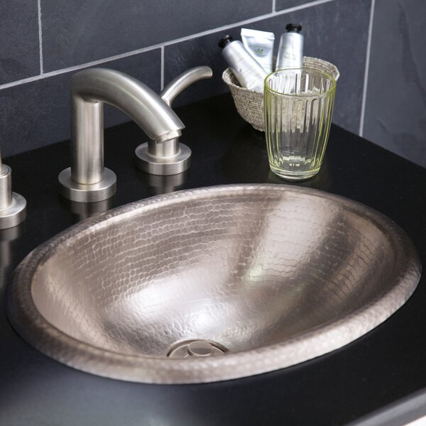 Baby Classic Metal Oval Drop-In Bathroom Sink by Native Trails, Inc.