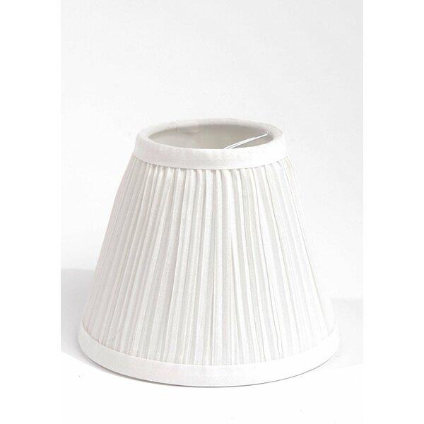 Pleat 6 Silk Hardback Empire Lamp Shade by Ophelia & Co.