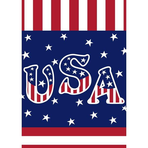Veteran Salute 2-Sided Garden flag by Toland Home Garden