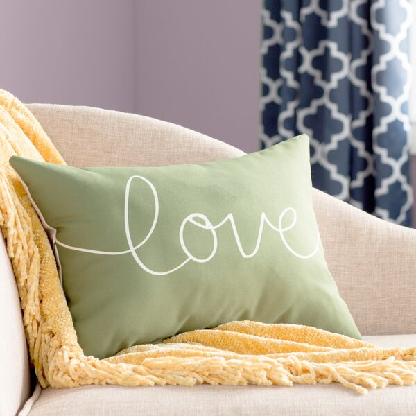 Ursula Love Mix and Match Lumbar Pillow by Andover Mills
