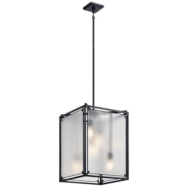 Savarese 5 - Light Lantern Square Chandelier by Williston Forge Williston Forge