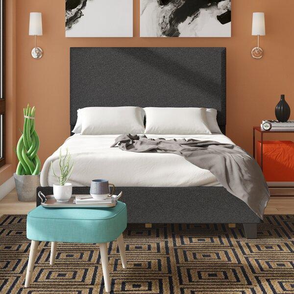 Biseye Upholstered Standard Bed by Ebern Designs