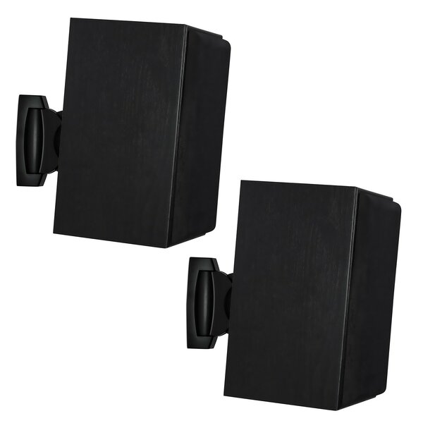 Heavy Duty Universal Adjustable Design Wall Speaker Mount (Set of 2) by Mount-it