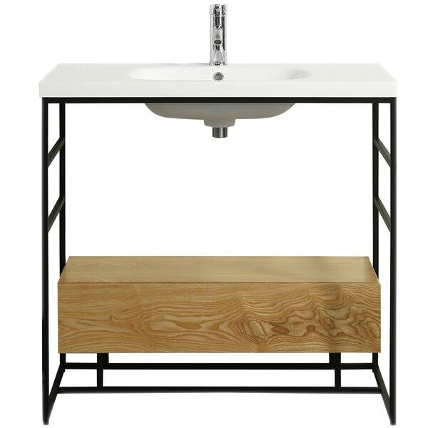 Burke 36 Single Bathroom Vanity Set by Foundry Select