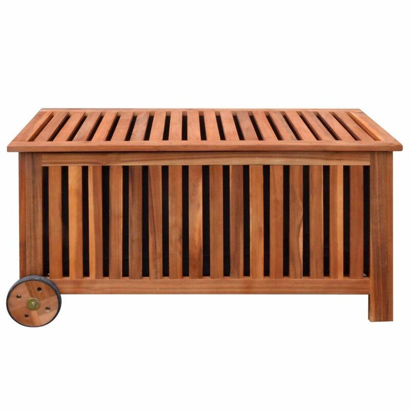 vidaxl 356 l aufbewahrungsbox aus holz bewertungen. Black Bedroom Furniture Sets. Home Design Ideas