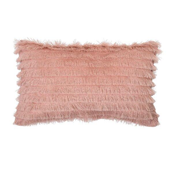Kintzel Cotton Lumbar Pillow by Everly Quinn