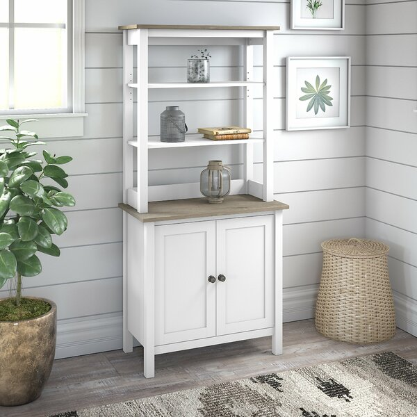 Jace Standard Bookcase By Rosecliff Heights