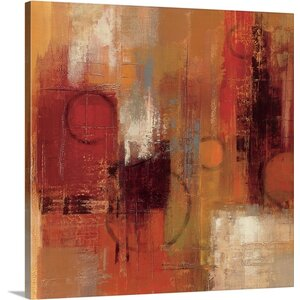 'Pentatonic Crop' by Silvia Vassileva Painting Print on Canvas by Great Big Canvas
