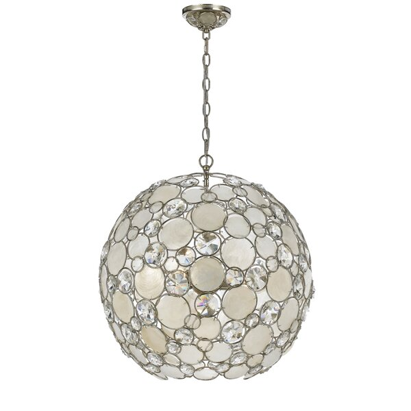 Fonville 6-Light Globe Chandelier by Brayden Studio