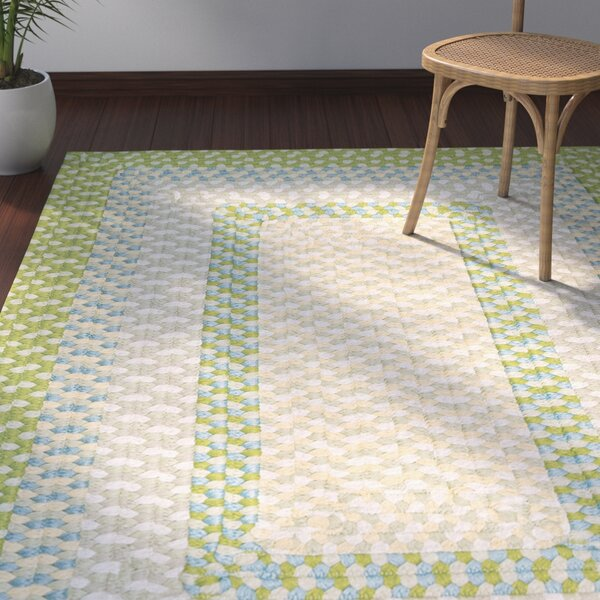Marathovounos Lime Twist Kids Indoor/Outdoor Area Rug by Bay Isle Home