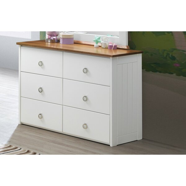 Lasater 6 Drawer Double Dresser by Isabelle & Max