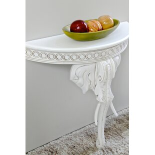Low priced Betty Half-Circle Console Table By Astoria Grand
