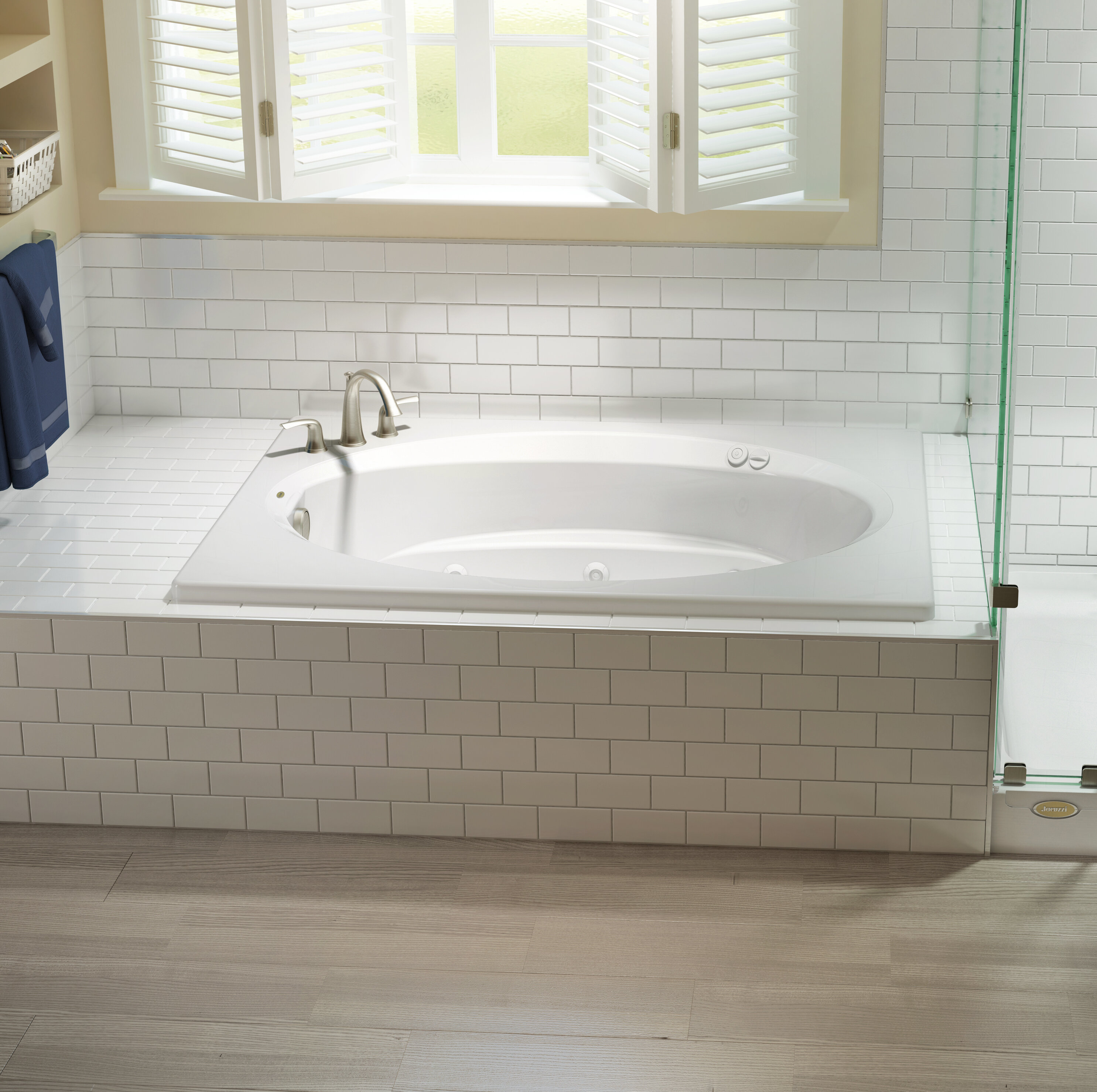 Jacuzzi Whirlpool Bath Jacuzzi.Signature 72 X 42 Drop In Whirlpool Bathtub